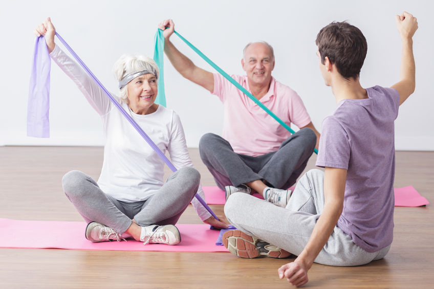 physical exercises for elderly people